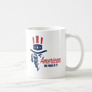 American And Proud Of It Coffee Mug