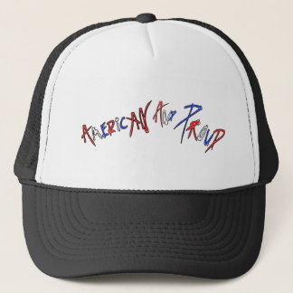 American and Proud Trucker Hat