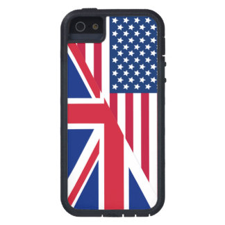 American and Union Jack Flag iPhone 5 Case