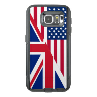 American and Union Jack Flag OtterBox Samsung Galaxy S6 Case