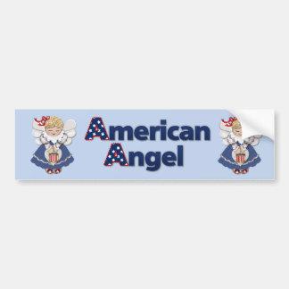American Angel Bumper Sticker
