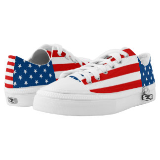 American Anthem Flag Low-Top Sneakers