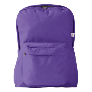 American Apparel™ Backpack, Amethyst Backpack