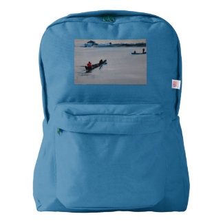 American apparel backpack boats in India