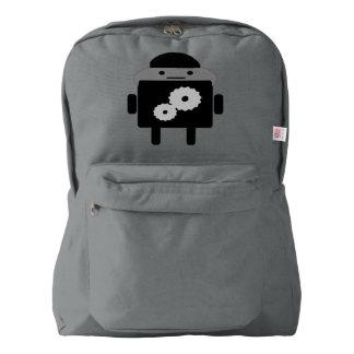 American Apparel Backpack Smoke
