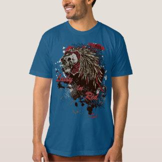 American Apparel Custom Design: Skull Lady in Red T-Shirt