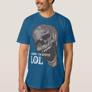 American Apparel Custom Made: LOL SKULL T-Shirt