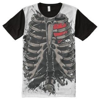 American Apparel Custom Made: Transparent to bone All-Over-Print T-Shirt
