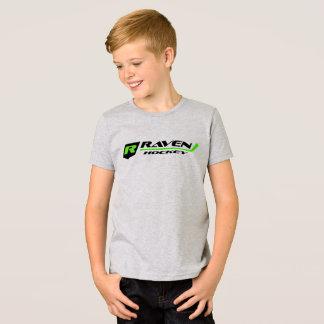 American Apparel Fine Jersey T-Shirt - Raven Logo