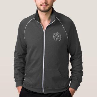 American Apparel Fleece Jacket in Grey - Men's