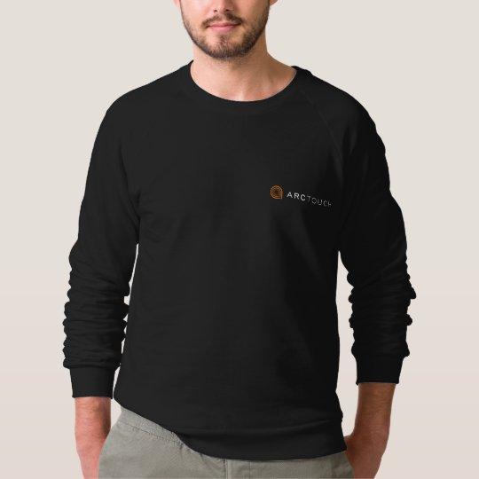 American Apparel sweatshirt w/ grey ArcTouch logo