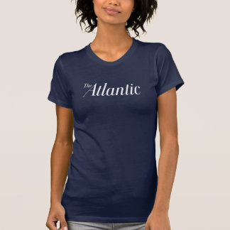 American Apparel T-Shirt in Navy - Women's