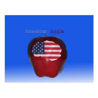 """ American Apple "" Postcard"