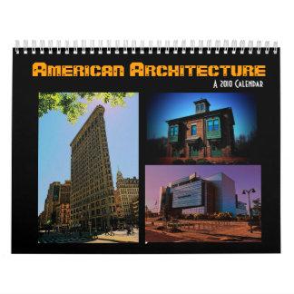American Architecture 2010 Calendar