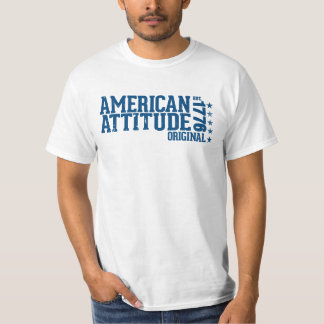 American Attitude T Shirt, Original White Tees