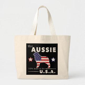 American Aussie Large Tote Bag