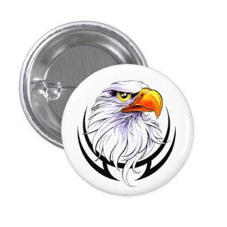 American Bald Eagle 1 Inch Round Button
