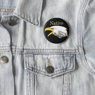 American Bald Eagle 2 Inch Round Button