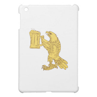 American Bald Eagle Beer Stein Drawing Cover For The iPad Mini