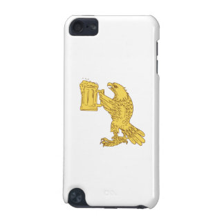 American Bald Eagle Beer Stein Drawing iPod Touch (5th Generation) Cases