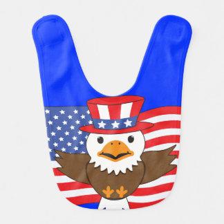 American Bald Eagle Bib