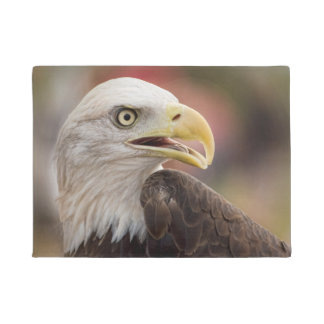 """American Bald Eagle"" Doormat"
