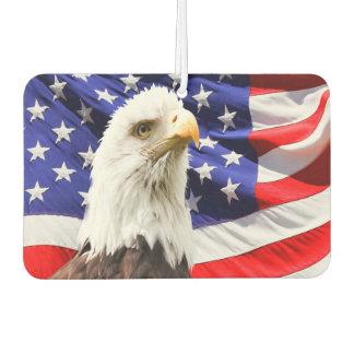 American Bald Eagle Flag Air Freshener