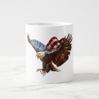 AMERICAN BALD EAGLE GIANT COFFEE MUG