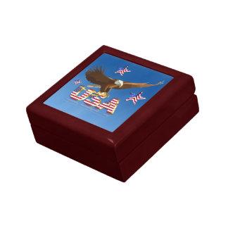 American bald eagle gift box