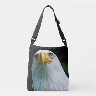 American Bald Eagle Head 001 03.3 Crossbody Bag