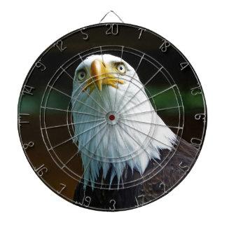 American Bald Eagle Head Dartboard With Darts