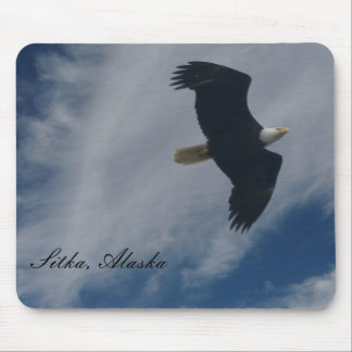 American Bald Eagle in Sitka, Alaska Mouse Pad