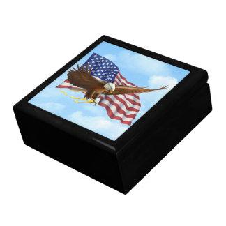 American Bald Eagle Keepsake Boxes