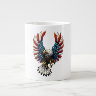 AMERICAN BALD EAGLE LARGE COFFEE MUG