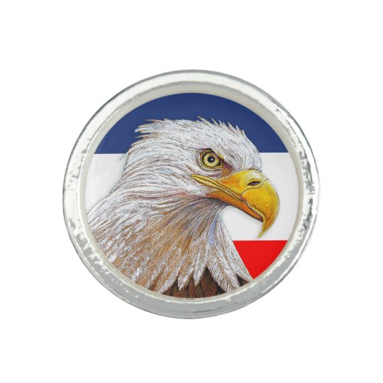 American Bald Eagle Ring