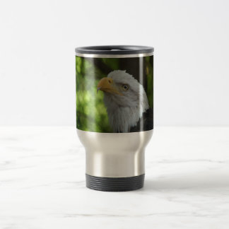 American Bald Eagle Stainless Travel Mug
