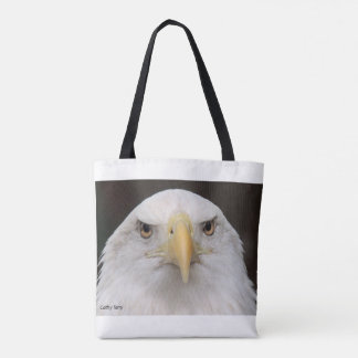 American Bald Eagle tote bag