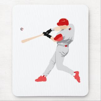 American Baseball Player Mouse Pad