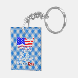 American Bavarian Roots Keychain