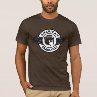 American Bearlines t-shirt - wings logo