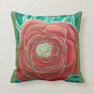 American Beaty - rose pillow