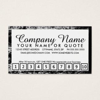 american beauty loyalty program business card