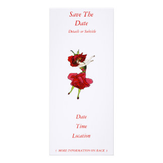 American Beauty Rose Custom Announcement