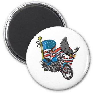 American Bike Eagle Magnet