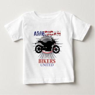 American Bikers United Motorbike Graphic Baby T-Shirt