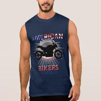 American Bikers United Motorbike Graphic Sleeveless Shirt