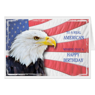 American birthday card