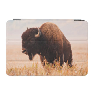 American Bison (Bison Bison) Herd In Teton 2 iPad Mini Cover