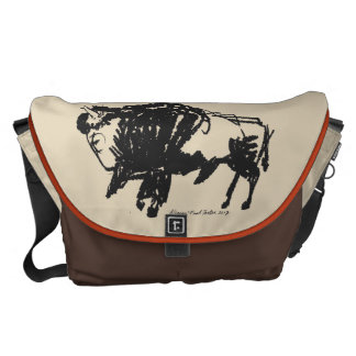 American Bison Courier Bag