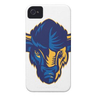 American Bison Head Retro Case-Mate iPhone 4 Case